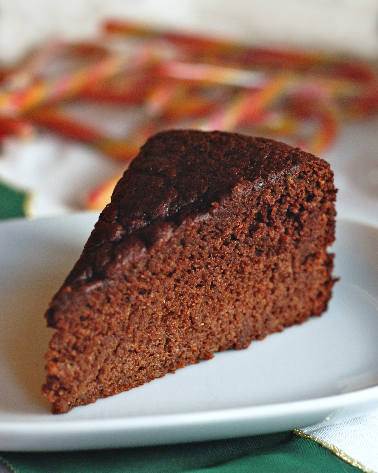 Chocolate And Mandarin Cake