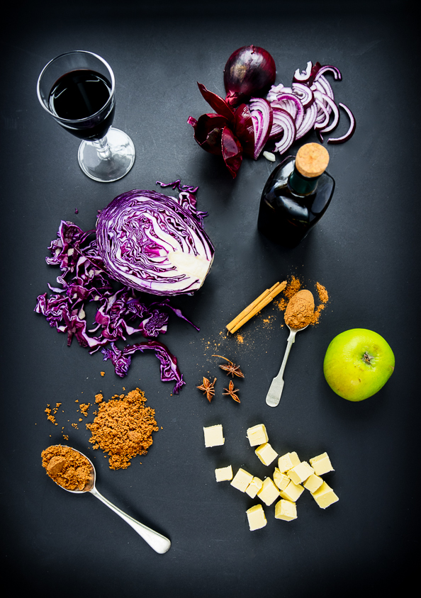 Red Spiced Cabbage