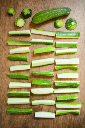 courgette chips on thingswemake