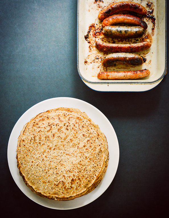 oatcakes and sausage on things{we}make
