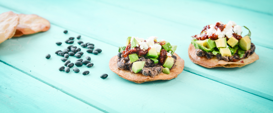 Chipotle and Black Bean Tostadas | Things we make