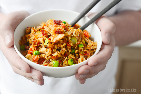 thingswemake fried rice