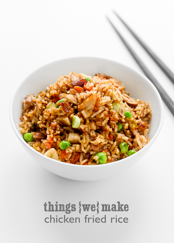 Chicken Fried Rice on thingswemake