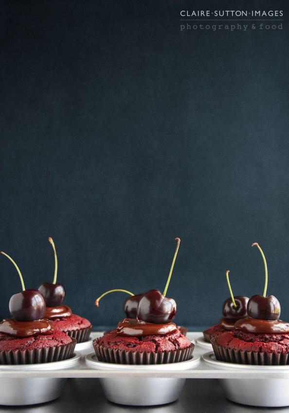 Choc Cherry Muffins on things{we}make