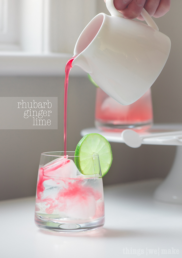 Rhubarb Ginger Lime on thingswemake