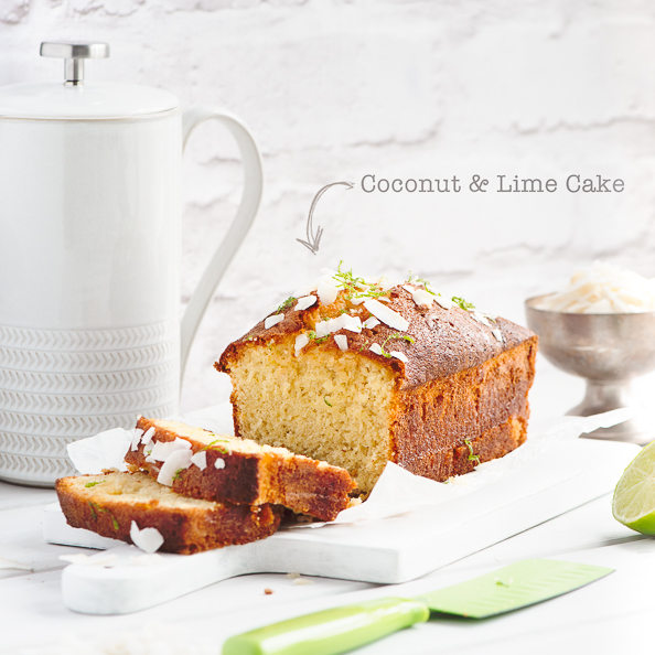 thingswemake coconut lime cake