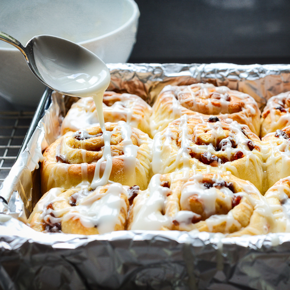 Sticky Buns on thingswemake